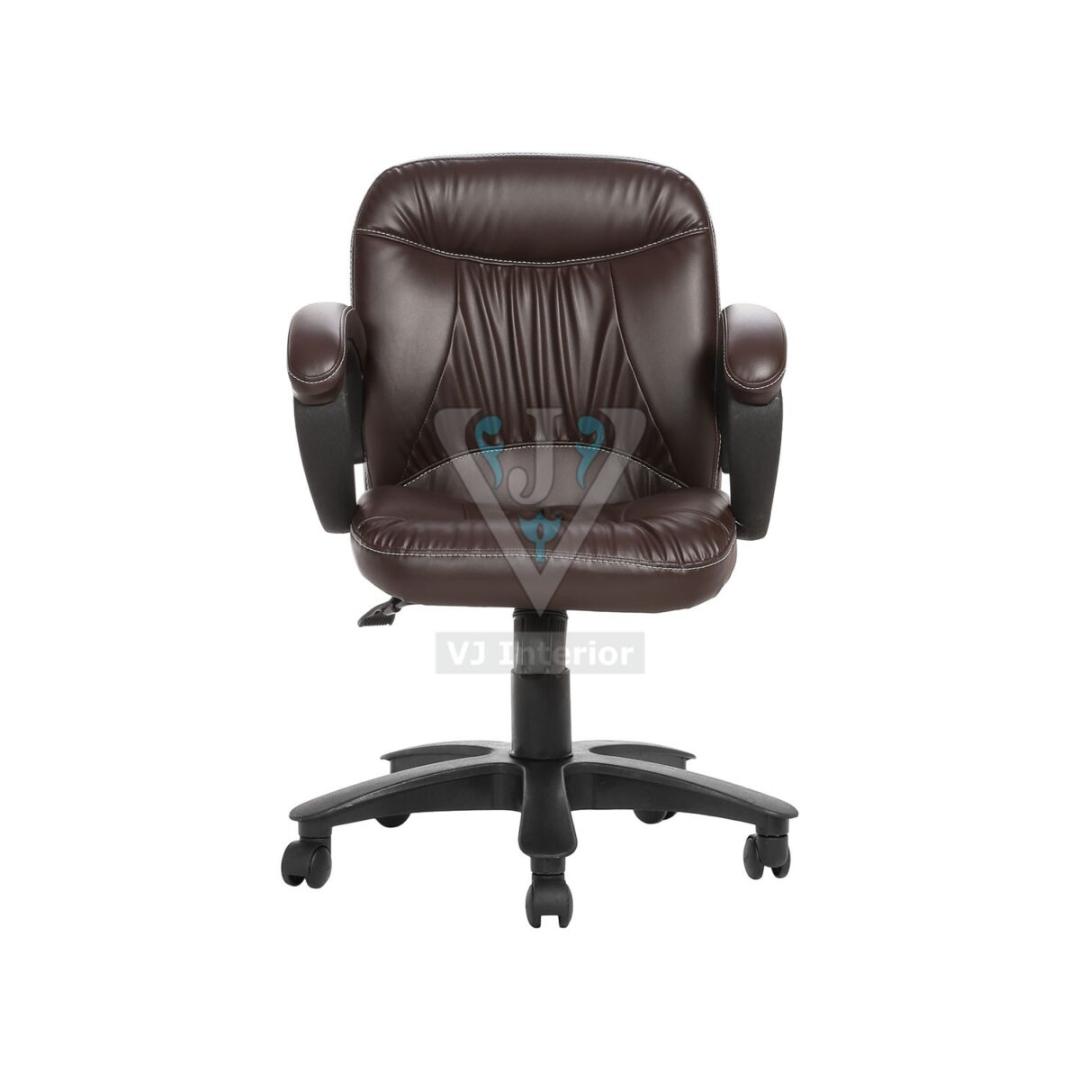 THE DELANTAL WORKSTAION CHAIR BROWN