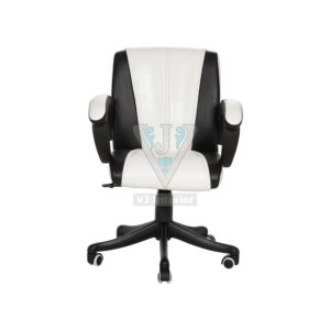 THE BLANEGRO LB WORKSTATION CHAIR BLACK AND WHITE