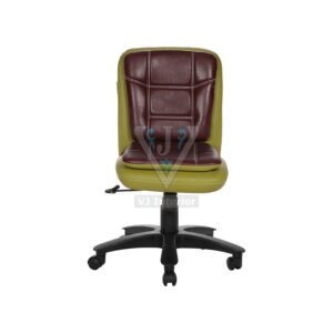 THE LIBRANEJAR LB WORKSTAION CHAIR GREEN AND MAROON