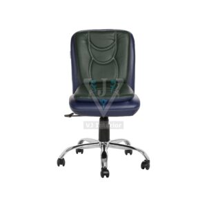 THE LIBRANEJAR LB WORKSTAION CHAIR BLUE AND DARK GREEN