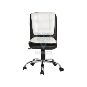 THE LIBRANEJAR LB WORKSTAION CHAIR BLACK AND WHITE