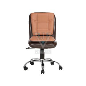 THE LIBRANEJAR LB WORKSTAION CHAIR BROWN AND CHESNUT