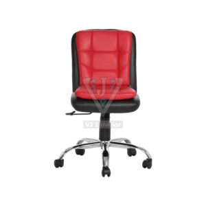 THE LIBRANEJAR LB WORKSTAION CHAIR BLACK AND RED