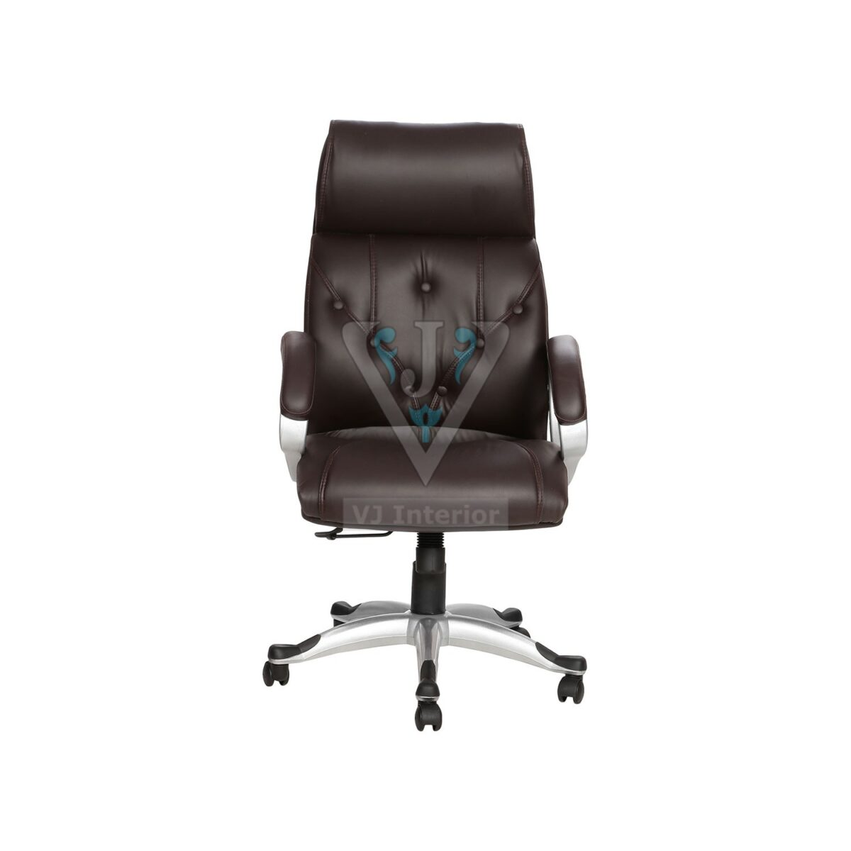 THE SIETE HB EXECUTIVE CHAIR BROWN