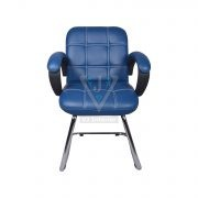 THE AZUL LOW BACK VISITOR CHAIR IN BLUE