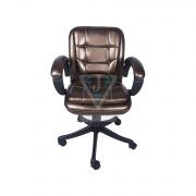 THE CHIQUITA LOW BACK CHAIR IN COPPER COLOUR