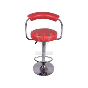 THE BRAZOS METAL BAR STOOL RED