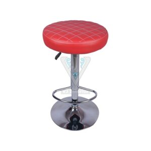 THE CONSCIENTE BAR STOOL RED