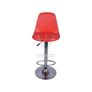 THE ERGONOMICO BAR STOOL RED