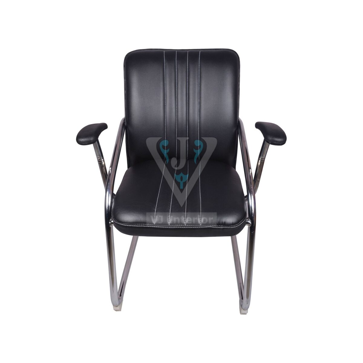 THE INVITADO MID BACK GUEST CHAIR BLACK