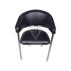 THE MITAD MID BACK GUEST CHAIR BLACK