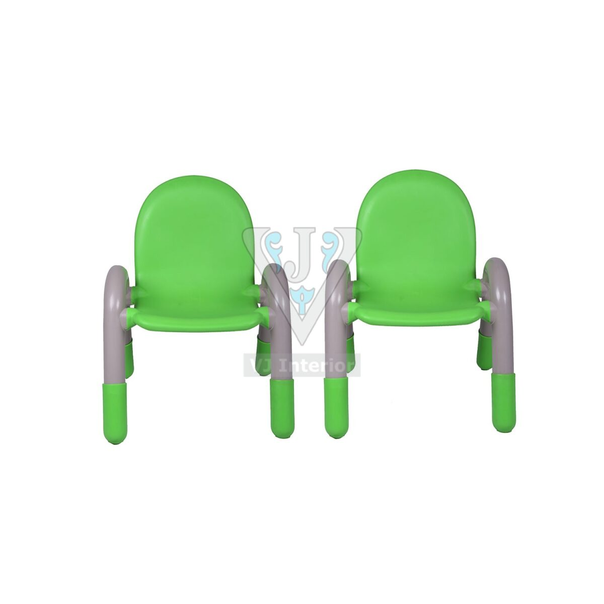 THE CHICO ENGINEERING PLASTIC KIDS CHAIR GREEN