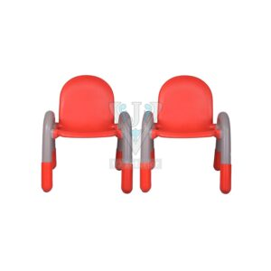 THE CHICO ENGINEERING PLASTIC KIDS CHAIR RED