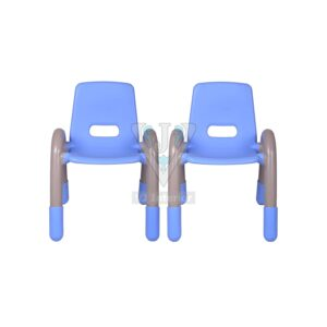 THE VOLVER ENGINEERING PLASTIC KIDS CHAIR BLUE