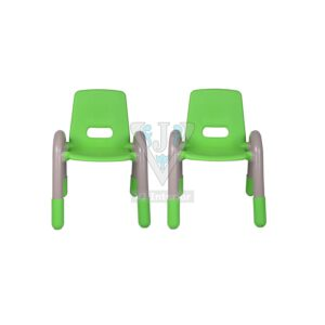 THE VOLVER ENGINEERING PLASTIC KIDS CHAIR GREEN