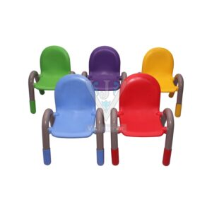 THE CHICO ENGINEERING PLASTIC KIDS CHAIR FIVE PIECES