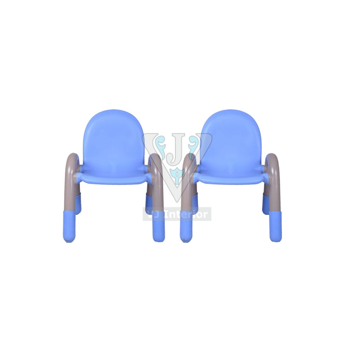 THE CHICO ENGINEERING PLASTIC KIDS CHAIR BLUE