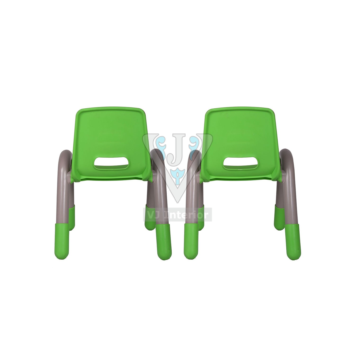 The Volver Engineering Plastic Kids Chair Green Vj Interior
