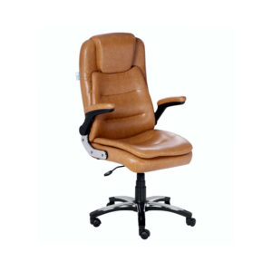THE LARGAS EXECUTIVE HIGH BACK CHAIR IN DESIGNER TAN COLOR