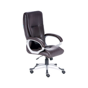 THE ELENTAL EXECUTIVE HIGH BACK CHAIR IN BROWN COLOR