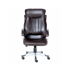 THE DOBLEIDO EXECUTIVE HIGH BACK CHAIR IN BROWN COLOR