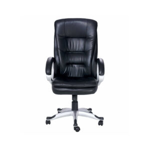 THE INFERIOR EXECUTIVE HIGH BACK CHAIR IN BLACK COLOR