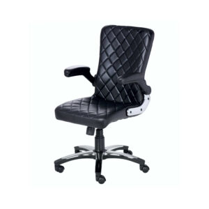 The X-Mi Semi High Back Designer Chair In Black Color