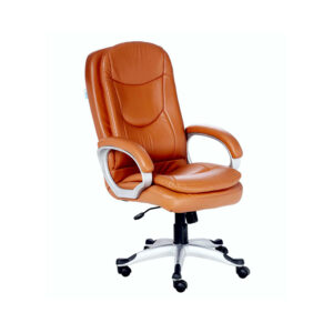 THE HELADO EXECUTIVE HIGH BACK CHAIR IN TAN COLOR