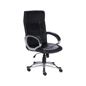 THE COSTURA EXECUTIVE HIGH BACK CHAIR IN BLACK COLOR