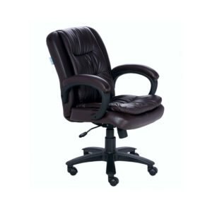 Garrura Mid-Back Brown Executive Office Visitor chair