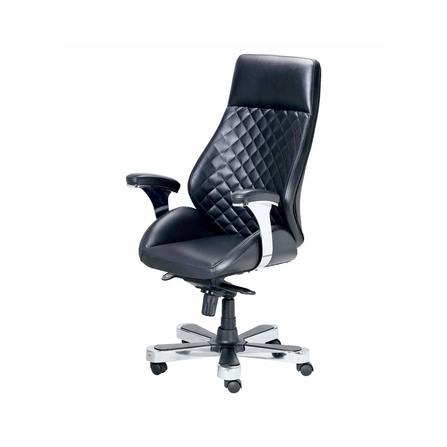 The Galleta Executive Hb Chair In Black Color Vj Interior