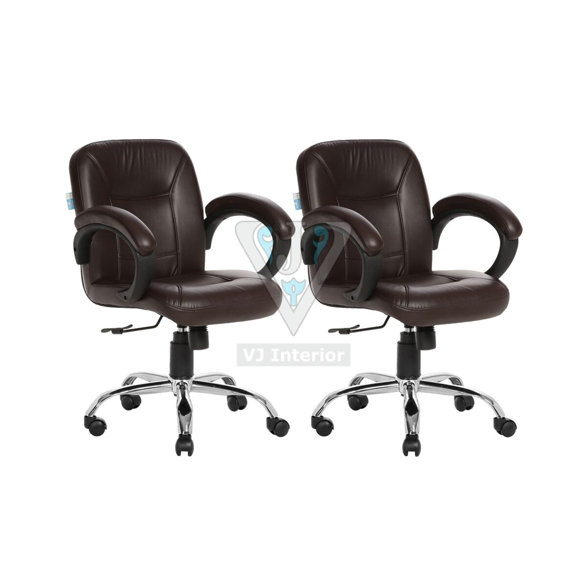Buy One Get One Free Lowback Office Chair Brown (Acabado)