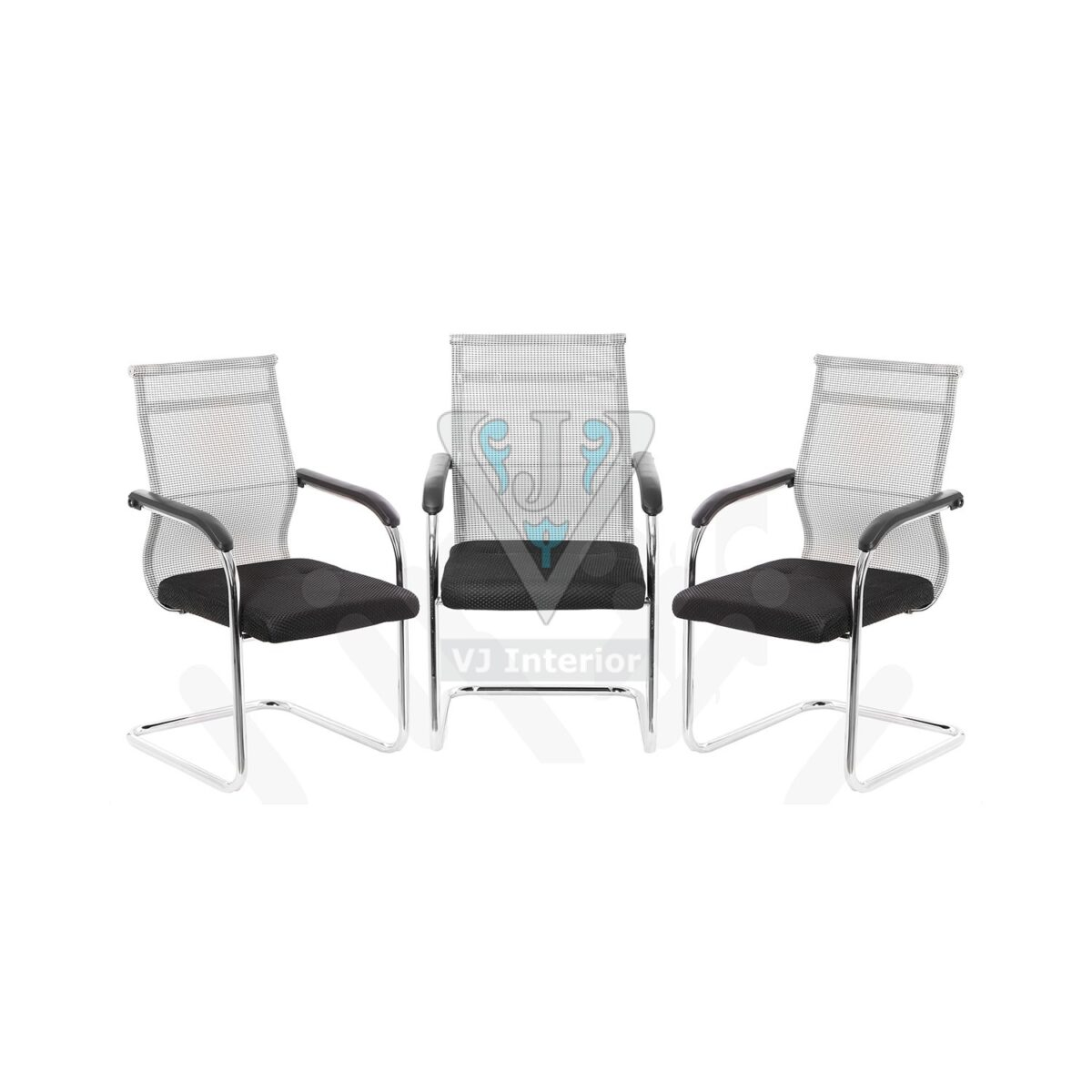 Visitor Chair Set of 3