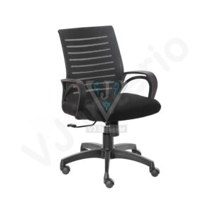 Aooba Black Mesh Ergonomic Office Chair
