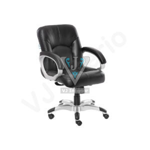 Black Garrura Executive Mid Back Office Visitor Chair