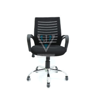 EXECUTIVE TASK CHAIR MEDIUM BACK IN BLACK COLOR (THE AVION)