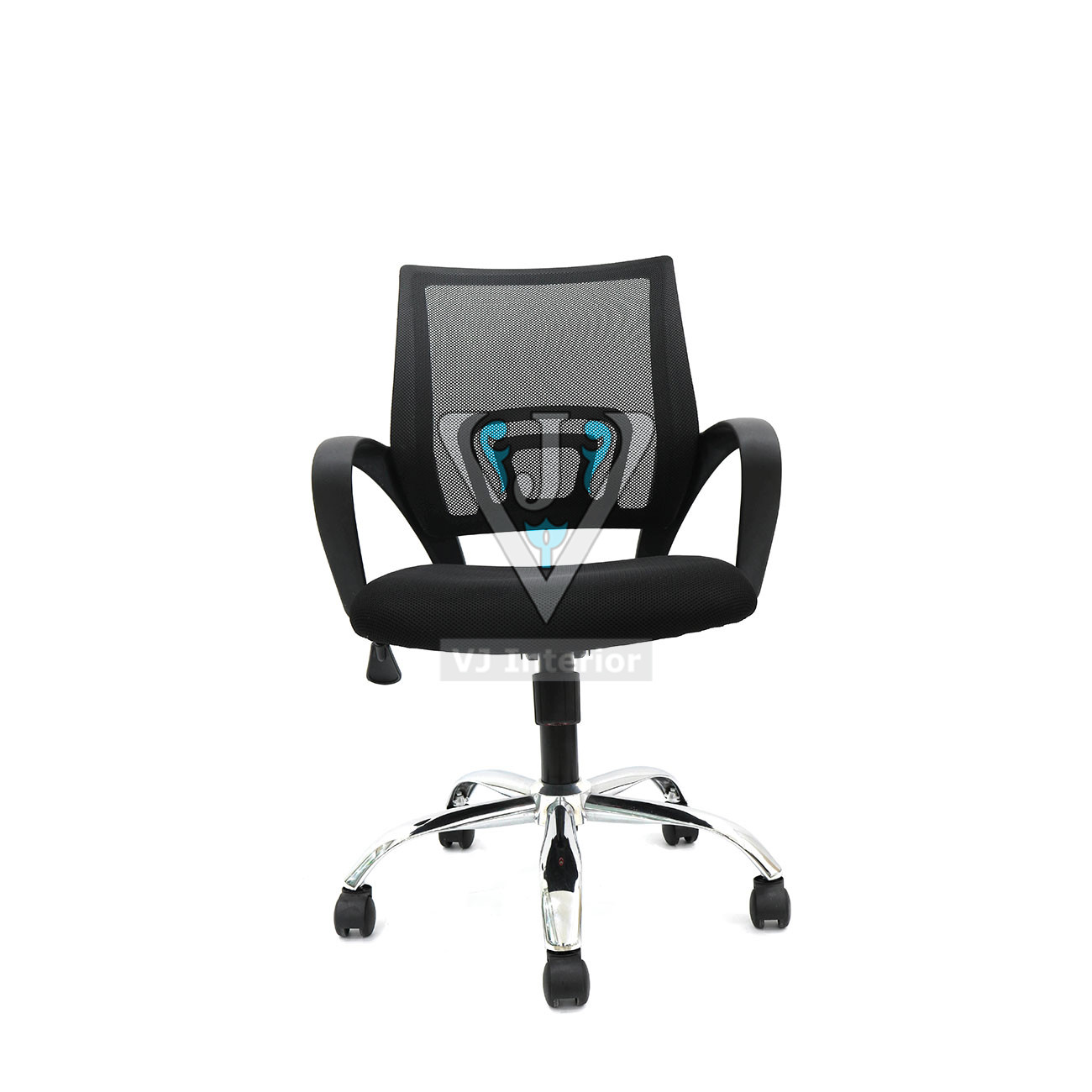 Executive task chair low back in black color the noven for Furniture zone near me