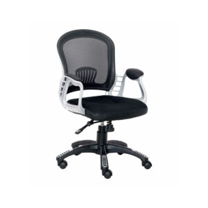 EXECUTIVE MEDIUM BACK MESH CHAIR IN BLACK COLOR