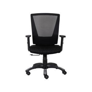 Mesh Black Executive Chair With Designer Wheelbase