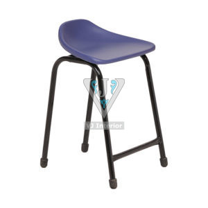 Blue Bar Standing Stool