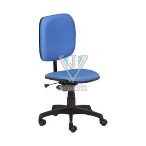 COMPUTER CHAIR WITHOUT ARM IN BLUE