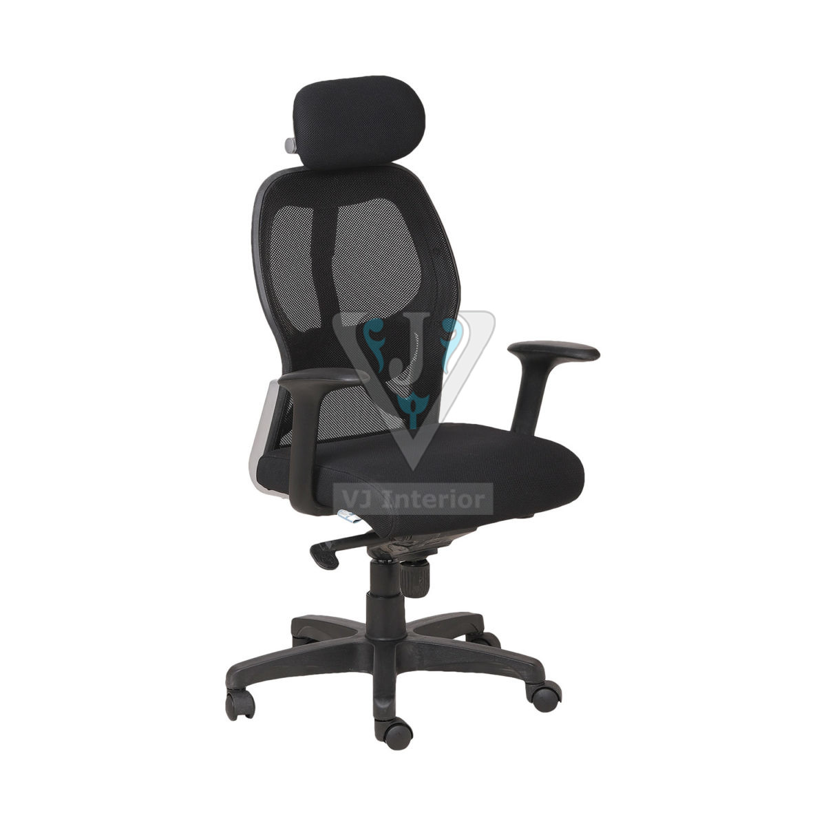MESH DIRECTOR CHAIR IN BLACK COLOR