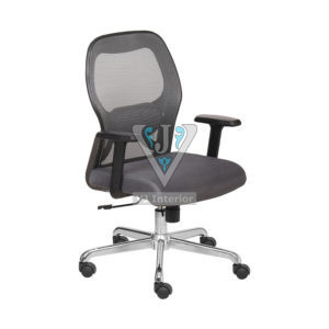 MESH EXECUTIVE CHAIR IN GRAY COLOR