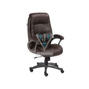 Stylish High Back Full Brown Office Executive Chair