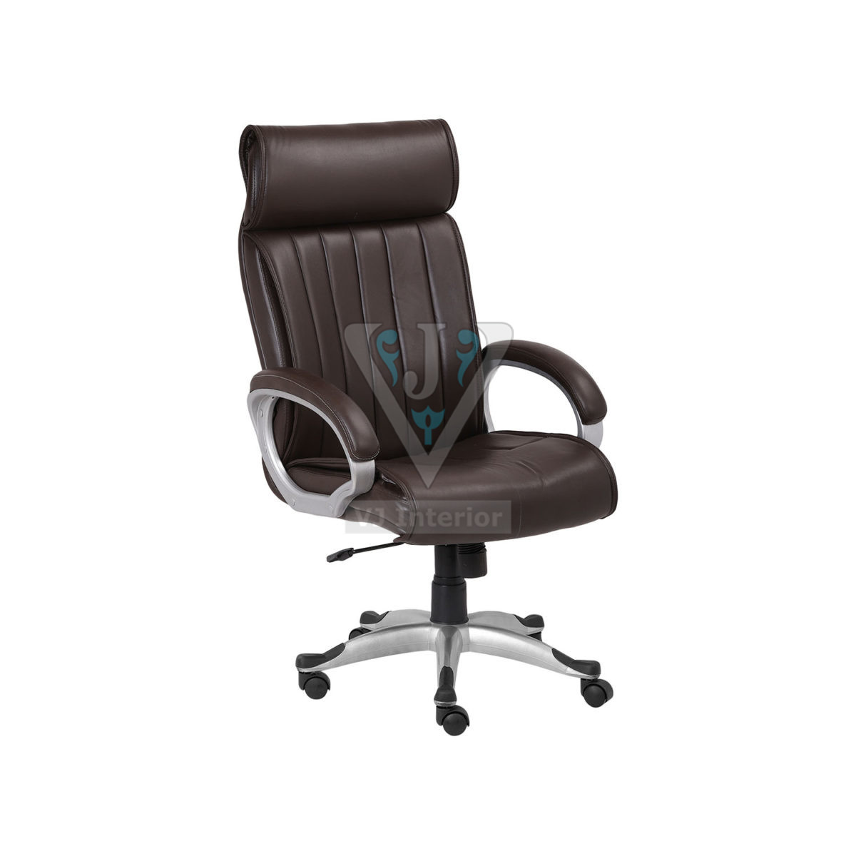 High Back Stylish Brown Office Executive Chair