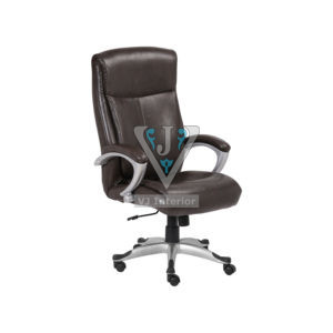 Extra Padded Seat Office Executive Chair In Leather