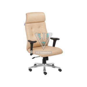 DIRECTOR OFFICE CHAIR IN CREAM