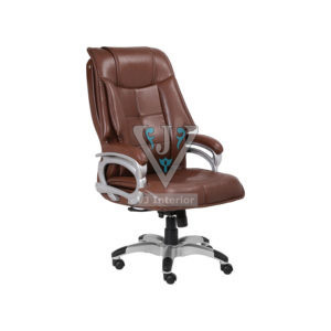 DIRECTOR OFFICE CHAIR IN BROWN