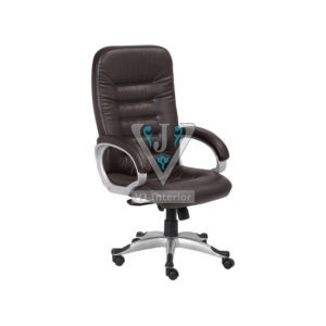 Back Support Cushioned Leather Executive Chair