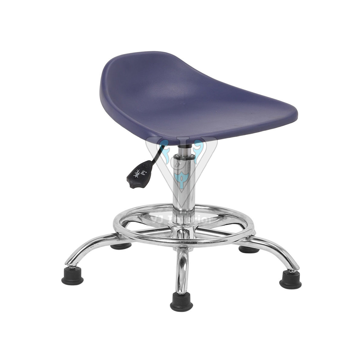 PLASTIC STOOL IN BLUE COLOR